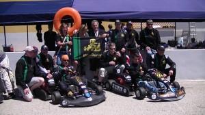 Die Sieger 2013 BKS Racing aus Luxemburg